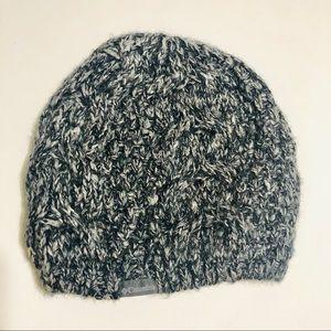 Columbia Women's Gray Mohair Blend Beanie Hat